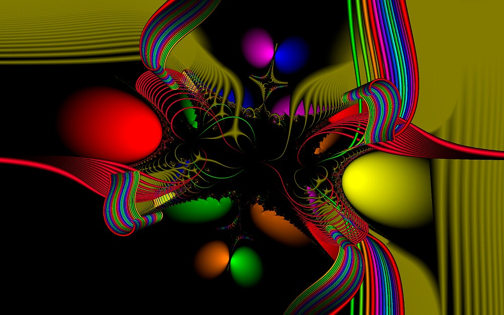 Fractal Art #013 by Curtis Bard
