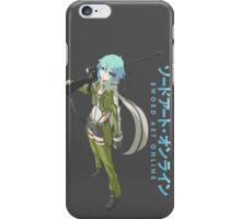 Sword Art Online- Sinon iPhone Case/Skin