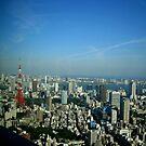 Tokyo Skyline by alexandraliew