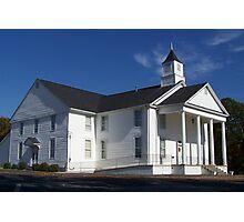 Padgett's Creek Baptist Church Photographic Print