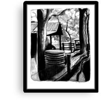 Derelict Farm Canvas Print