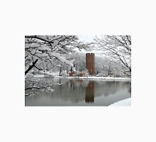 winter reflection's at Penn State Altoona Unisex T-Shirt