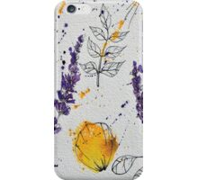 Herbs and Spiders iPhone Case/Skin