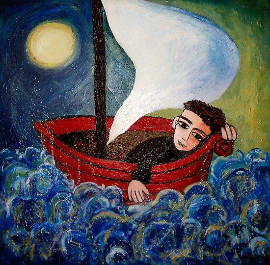sea boy by genevievem