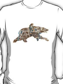 Distressed Maps: His Dark Materials Lyra's Oxford T-Shirt