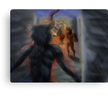 In the Labyrinth  Canvas Print
