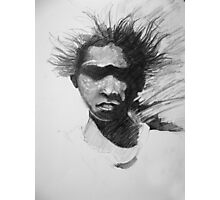 A Boy from the Bush Photographic Print