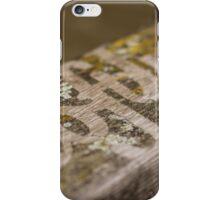 Softly - word iPhone Case/Skin