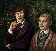 Holmes&Watson by beesants