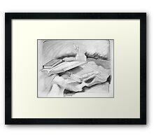 Study: The Word Framed Print