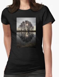Tree Highlights Womens Fitted T-Shirt
