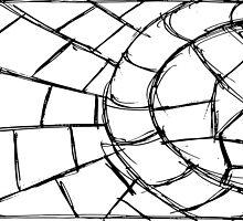 4 Circular Tiles By Chris McCabe - DRAGAN GRAFIX by Christopher McCabe