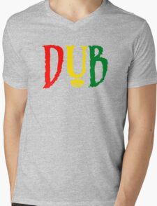 Dub Reggae Mens V-Neck T-Shirt
