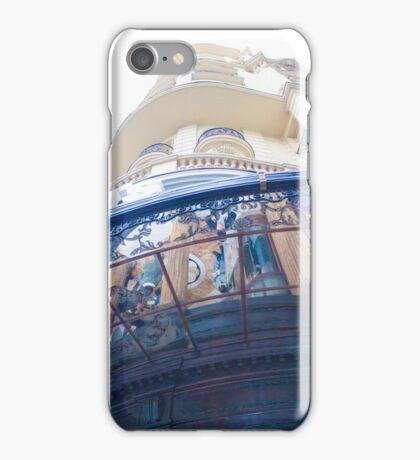 )) mirror canopy )) gran via )) madrid )) iPhone Case/Skin
