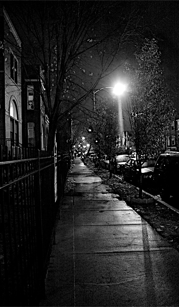 STREET SMART (CHRISTMAS LIGHTS)  by martin venit