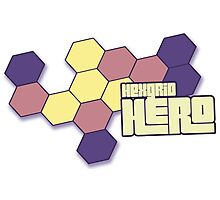 Hexgrid HERO Photographic Print