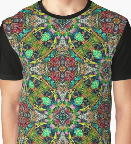 Abstract psychedelic surrealism wallpaper.  Graphic T-Shirt
