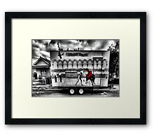 Spanish Donuts Framed Print