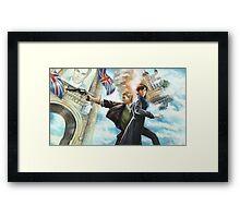 Watson, catch! Framed Print