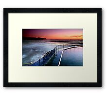 Bronte Dawn Framed Print