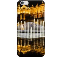 Night-time reflections iPhone Case/Skin