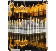 Night-time reflections iPad Case/Skin