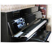 Piano Reflections Poster