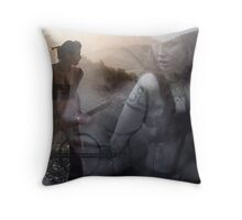 Woad 9 Throw Pillow