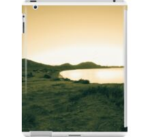 Morning sea. Camping on the beach. iPad Case/Skin