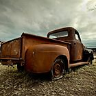 Abandoned 1952 Ford F-1 by mal-photography