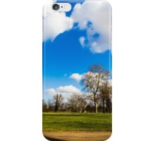 Summertime in the park iPhone Case/Skin