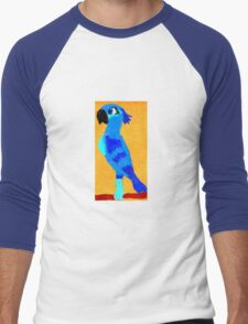 Blue Parrot Men's Baseball ¾ T-Shirt