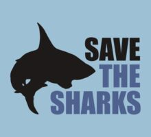 Save the Sharks One Piece - Short Sleeve