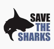 Save the Sharks Kids Clothes