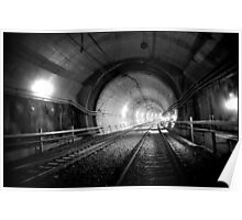 Urban Landscape # 29 Green Square Tunnel Poster