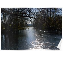River Thames at Wolvercote Poster