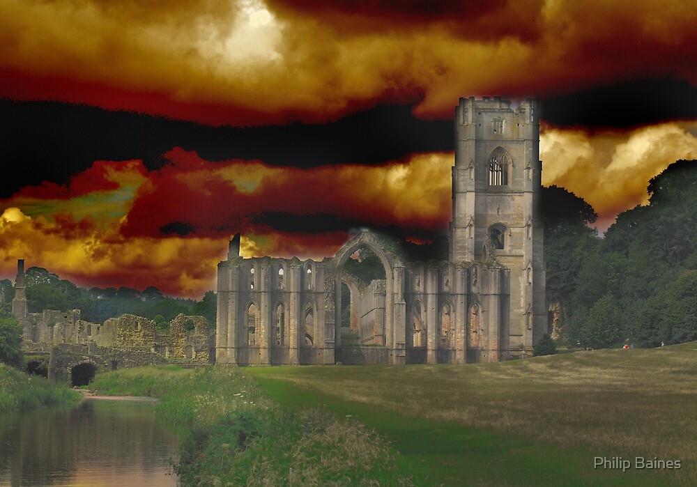 Fountains Abbey by Philip Baines