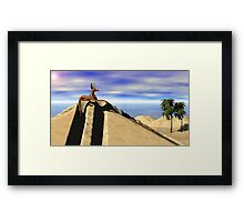Anubis The Protector Framed Print