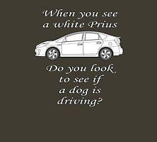 White Prius Unisex T-Shirt