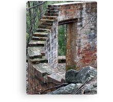 Step Up To Oblivion Canvas Print