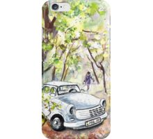 A White Trabant In Budapest iPhone Case/Skin