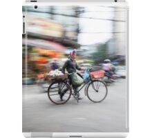 Hanoi cycling iPad Case/Skin
