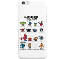 Mr Marvelous iPhone Case/Skin