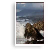 The Atlantic meets Ireland Canvas Print