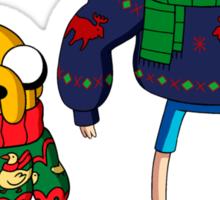 adventure time - Christmas Sticker