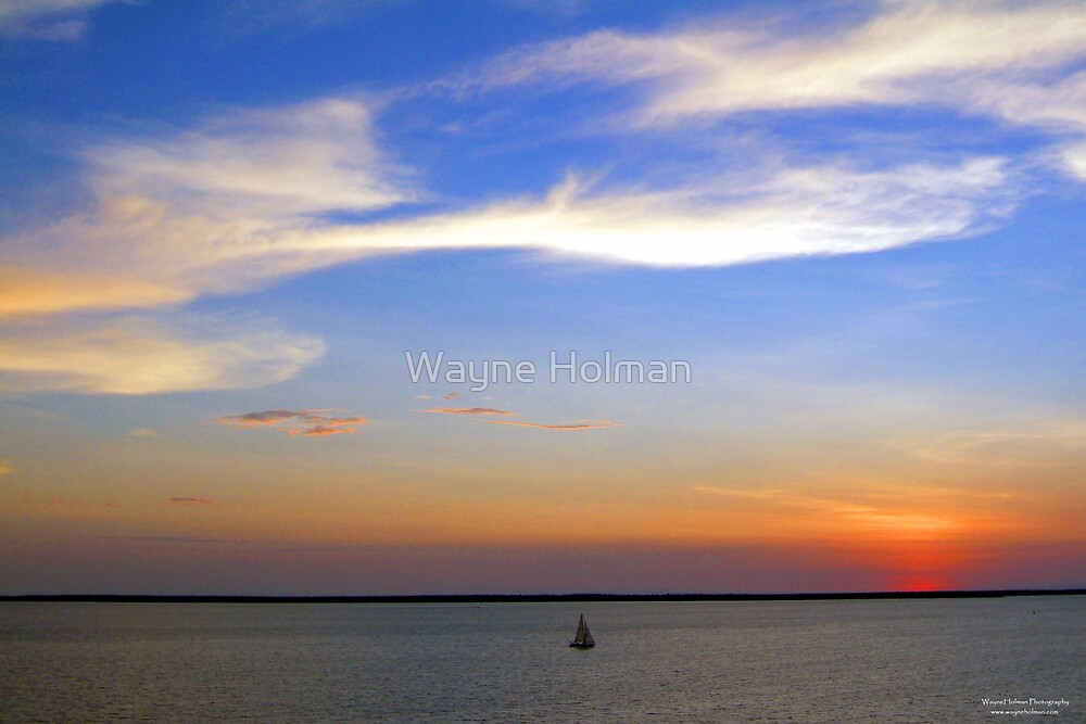 Lonesome Sunset by Wayne Holman