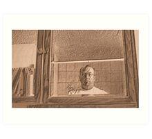 Prisoner in the Mirror Art Print