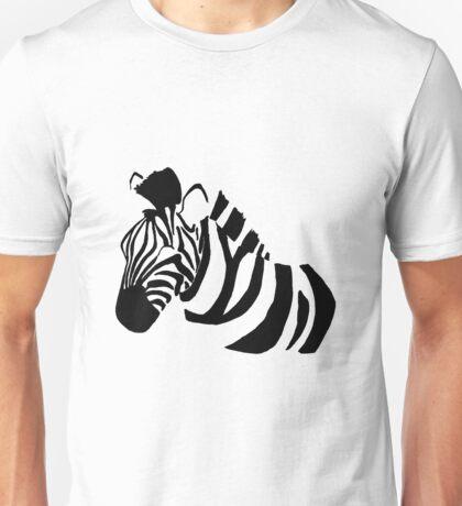 Minimilistic Zebra Unisex T-Shirt