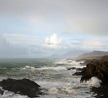 Atlantic Ocean next stop New York by Philip  Rogan
