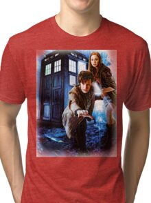 Action figures of Doctor Hoodie / T-Shirt Tri-blend T-Shirt